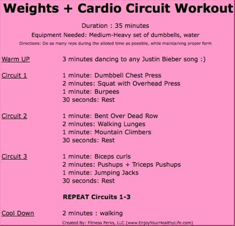 99 best images about circuit workouts on