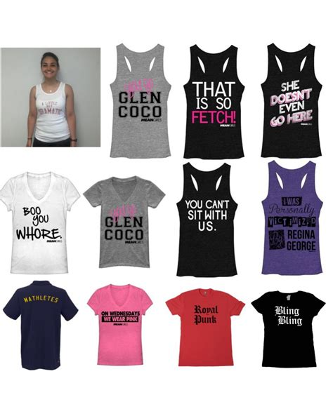 design apparel meaning mean girls merchandise choose your design