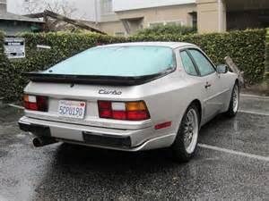 1989 Porsche 944 Turbo For Sale 1989 Porsche 944 Turbo Rear Quarter Ii German Cars For