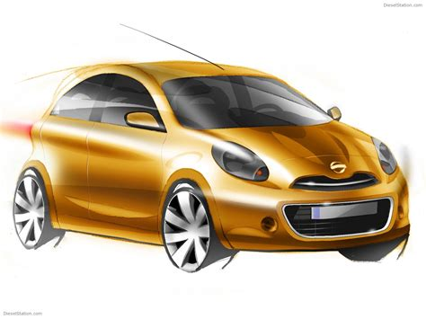 compact cars nissan compact eco car sketch exotic car wallpapers 02 of