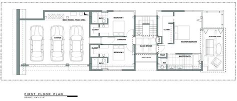 floor plan los angeles exceptional glass wood home in los angeles california