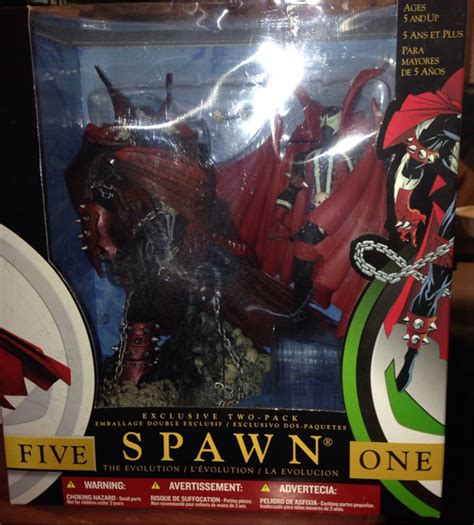 Spawn Evo spawn spawn the evolution exclusive two pack figure mcfarlane toys from sort it apps