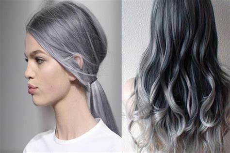 2017 S Hairstyles For Grey Hair by Ideas About Medium Grey Hairstyles