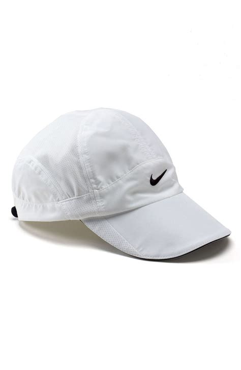 Nike Feather Light Cap by Nike Feather Light Cap In White End Of Color List White