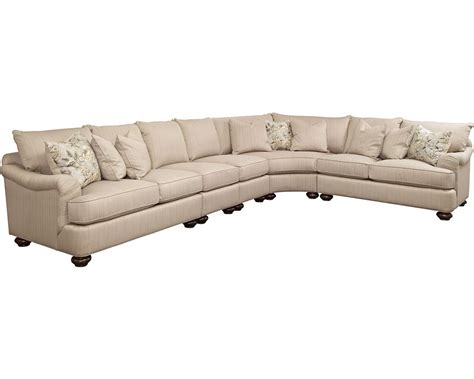 portofino sectional arm bun foot thomasville