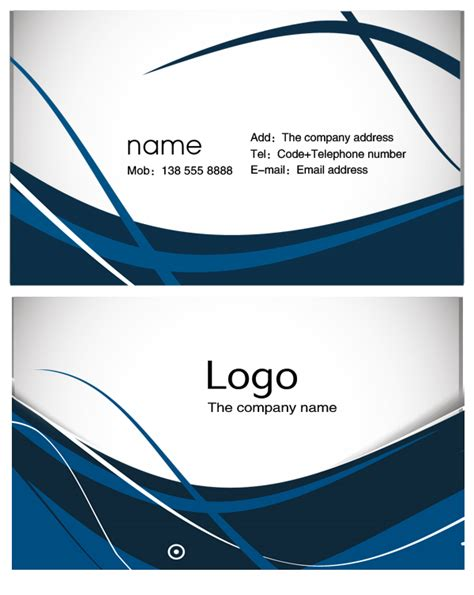 14 business card design template psd images business