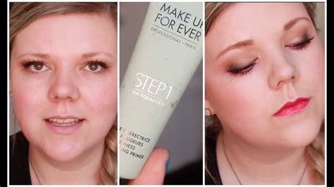 Forever In 1 new make up for step1 primer review and demo
