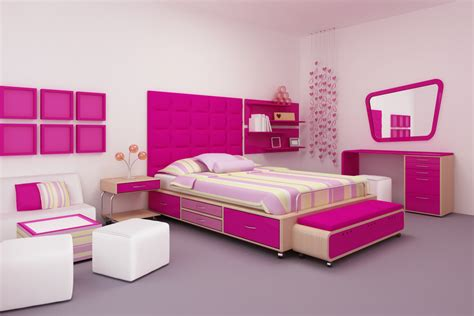 pink bedroom furniture beautiful pink decoration