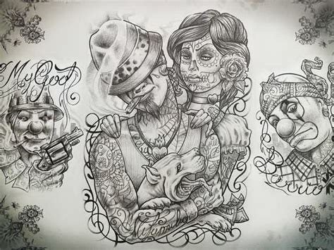 chicano tattoo design chicano set free 5405527 171 top tattoos ideas