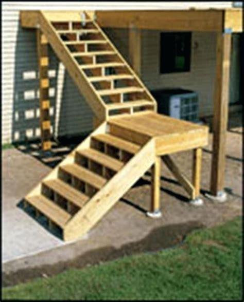 build  deck stair landing wallpaper image