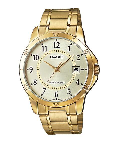 Casio Ltp V004g 9b Original mtp v004g 9b analog gent s dress timepieces casio