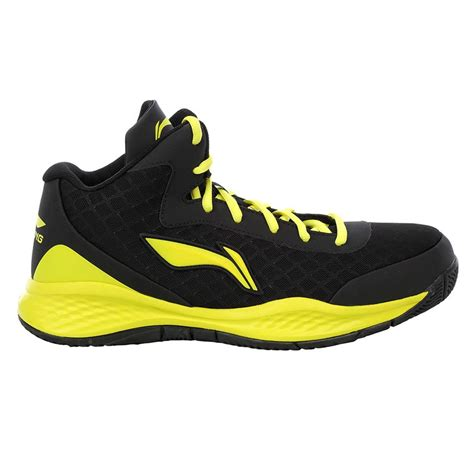 lining abpj047 4 basketball shoes black and yellow buy