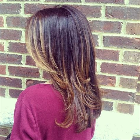 pics of small highlights to frame face bob pics soft subtle ombre with highlights framing face www