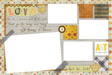 Photo Booth Frame Layout | lovingly crafted diy photobooth frame layout