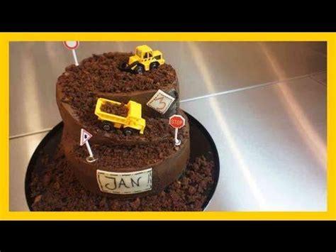 kindergeburtstags kuchen 30minuten baustellen torte kindergeburtstags baustellen