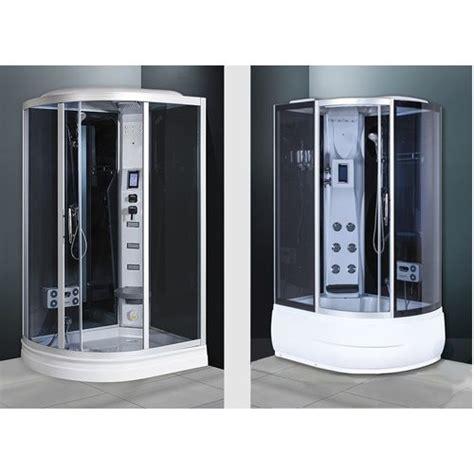 vasca idromassaggio sauna cabina idromassaggio multifunzione 120x85cm con sauna im