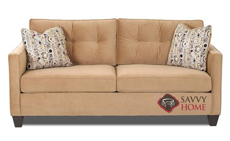 stillmore coffee sleeper ottoman bristol fabric queen by savvy is fully customizable by you