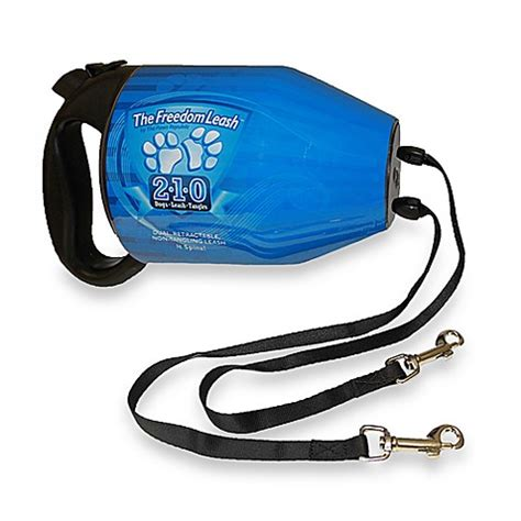 two leash buy the freedom leash two retractable leash from bed bath beyond
