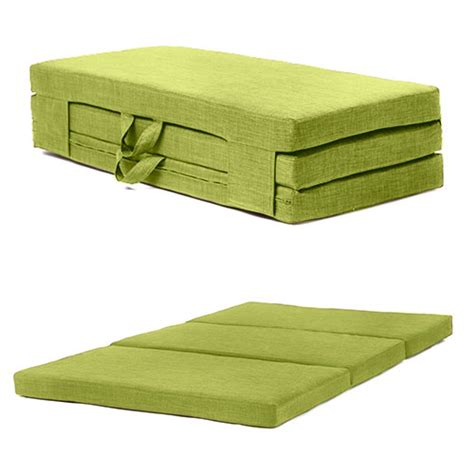 fold out futon bed fold out guest mattress foam bed single sizes