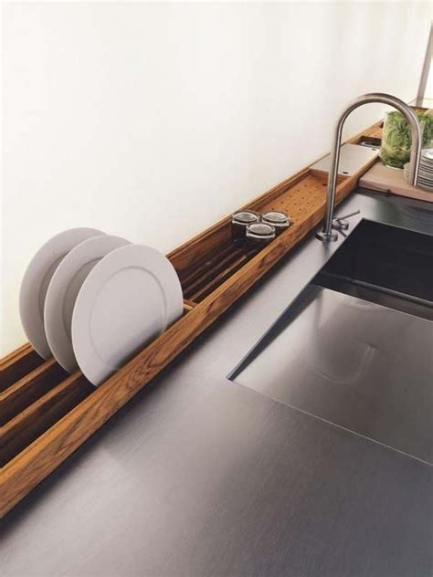 Space Saving Dish Rack by Essential Space Saving Tips For The Kitchen