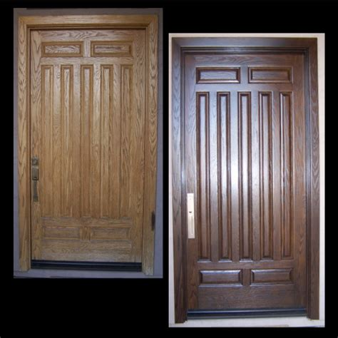 Refinishing Exterior Door Refinishing Exterior Wood Doors