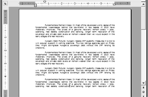 format html paragraph paragraph formatting