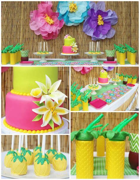 Kara S Ideas Hawaiian Luau Kara S Ideas Hawaiian 2nd Birthday