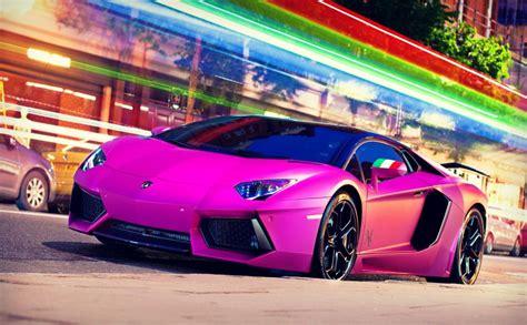 purple lamborghini cars 2560x1440 hd wallpaper