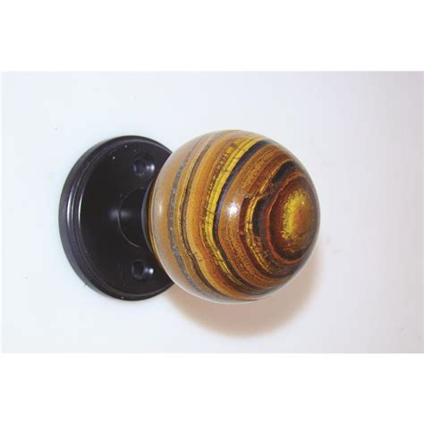 Going Knobs Coupon by Myterra Gemstone Hardware Dk Pl60 Btey Pvd Banded Tiger