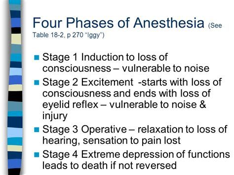 induction phase of anesthesia induction phase anesthesia 28 images stages of anaesthesia general anesthesia general