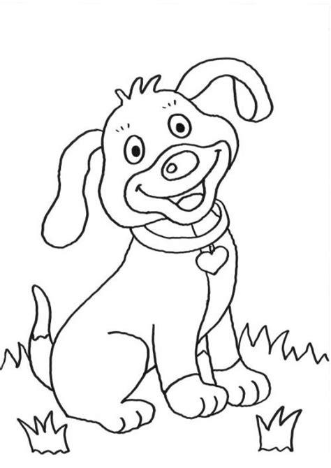 kostenlose malvorlage hunde welpe ausmalen zum ausmalen