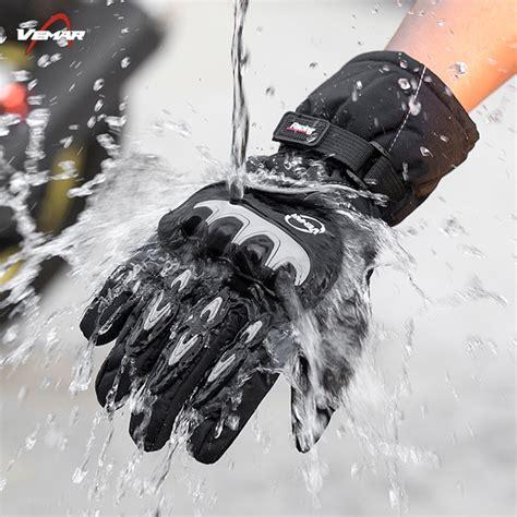 buy vemar winter warm motorcycle gloves