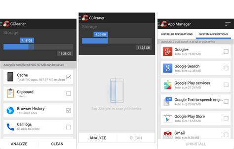 Ccleaner Android Review | hands on with ccleaner for android review