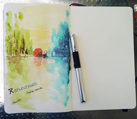 tutorial for watercolor that artist woman art journals and a easy painting exercise
