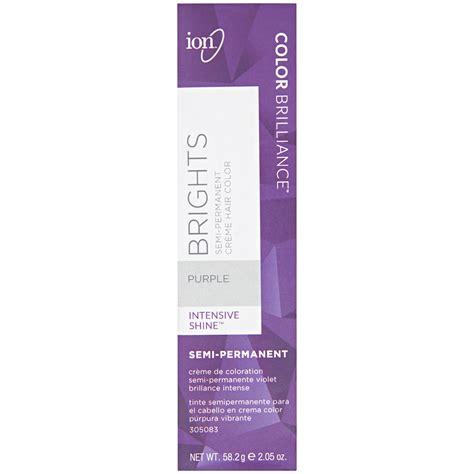ion color brilliance brights semi permanent hair color titanium ion color brilliance semi permanent brights hair color purple