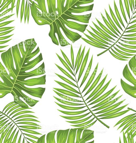 wallpaper tropical green seamless wallpaper with green tropical leaves for fabric