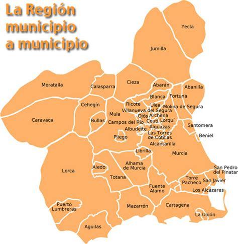 regin de murcia 849935713x municipios de la regi 243 n de murcia