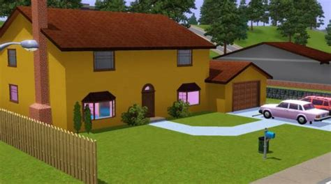 mod the sims the simpsons house 742 evergreen terrace 742 evergreen terrace la maison des simpsons