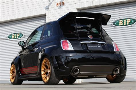 rk design rear diffuser frp for fiat abarth 500 miami