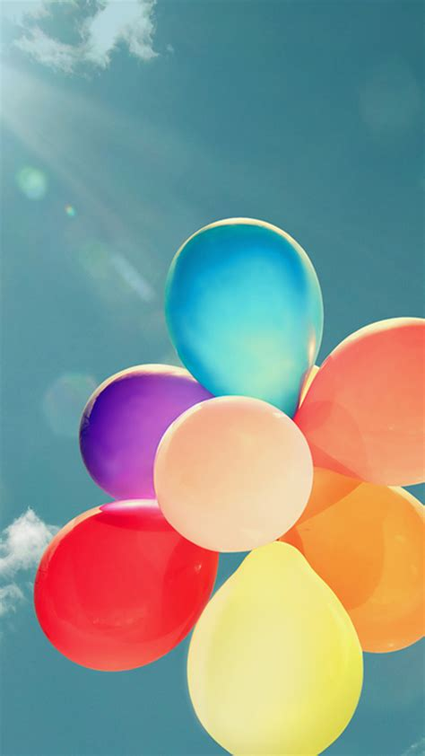 android wallpaper effect iphone balloons sky vintage effect android wallpaper free download