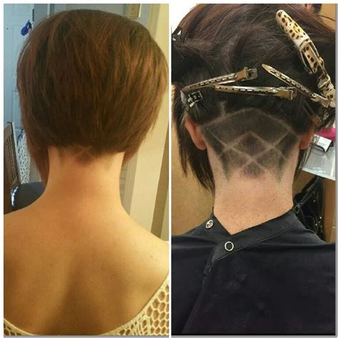 steep asymetrical side shave bob haircuts 161 best images about hairstyles undercuts on pinterest