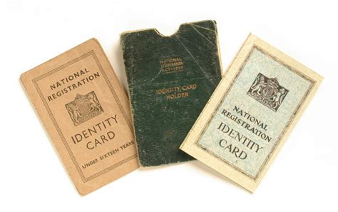 identity cards world war ii original object lessons