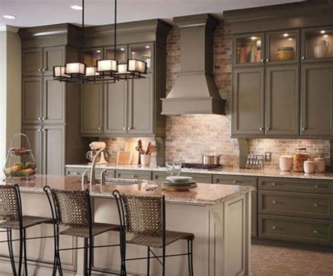brick backsplash kitchen 30 super practical and really stylish brick kitchen