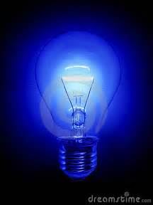 what is blue light blue light bulb royalty free stock image image 4427806