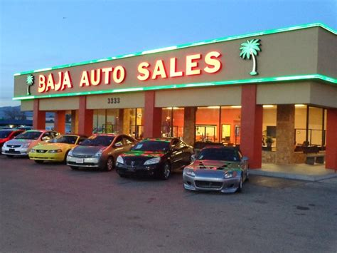 baja auto sales car dealers las vegas nv yelp