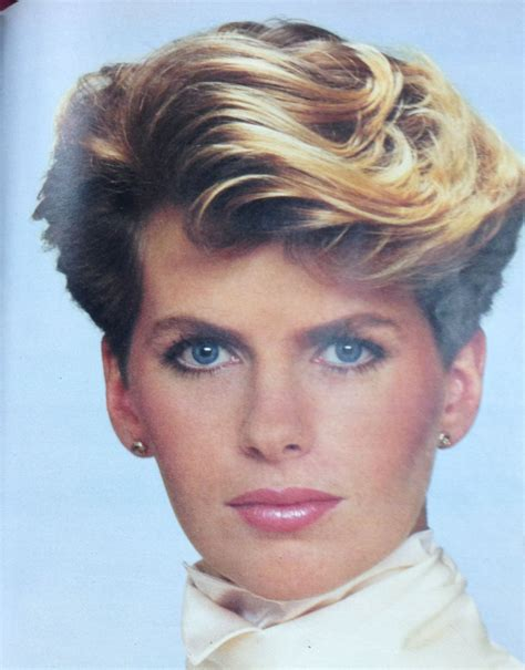 1980s Short Wavy Hairstyles | i remember this ad from the 80 s i was just a teenage