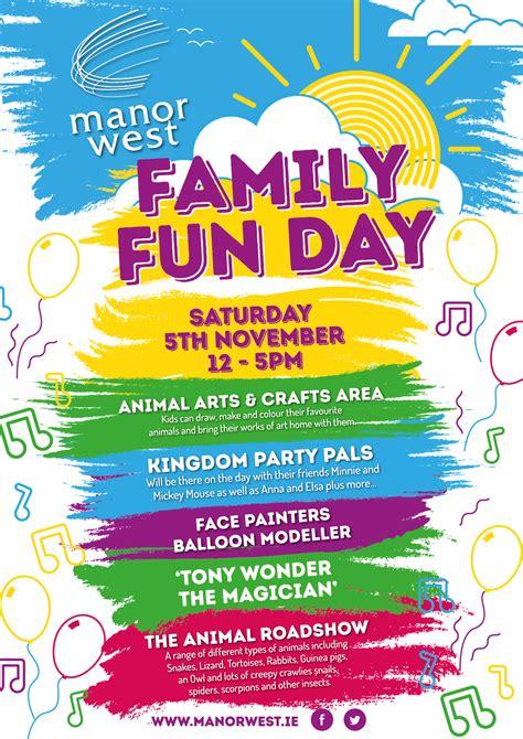 poster design fun day family fun day poster design www pixshark com images
