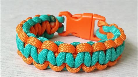 two color paracord bracelet how to make a paracord bracelet with two colors without