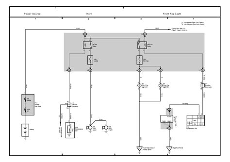 toyota ta a fog light wiring diagram toyota free engine