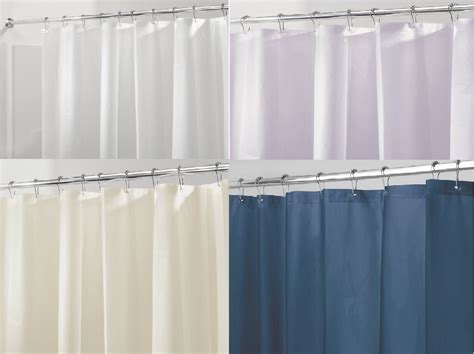 shower curtain sizes bathroom shower curtain liner waterproof sizes colors